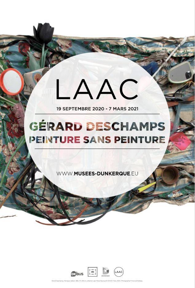 Gerard Deschamps - Peinture sans peinture au LAAC Dunkerque