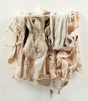 <b>REN GAINES</b> (1960)<br/><i>Oeuvre récemment retrouvée chez l'artiste - 65x50cm</i>
