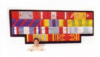 <b>Barrette Indochine, Corée, Algérie, Laos</b> (1965)
