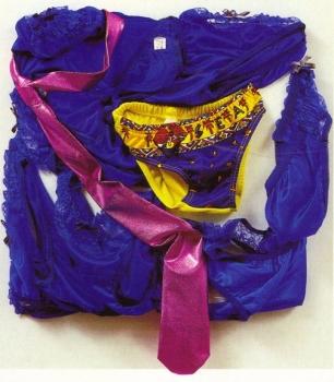 <b>One Night</b> (1987)<br/><i>Tissus, cravate et sous-vêtement</i>