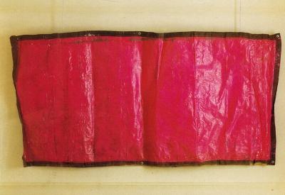 Bâches de l'Armée Américaine, Galerie Le Gall Peyroulet, Paris, 1988