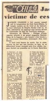 L'Aurore - décembre 1962