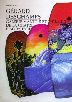Galerie Martine et thibaut de la Châtre, FIAC 09 / Grand Palais, Paris, 2008