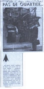 Libération - mars 1963